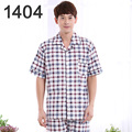 Autumn In Middle-Aged Men Pajama Trousers Made Of Pure Cotton Long Sleeve Leisurewear Two-Piece Outfit Cotton Male Big Yards Of