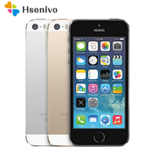 Original Unlocked Apple iphone 5S 16/32/64GB ROM IOS iphone5s White Black Gold GPS GPRS A7 IPS LTE Cell phone refurbished