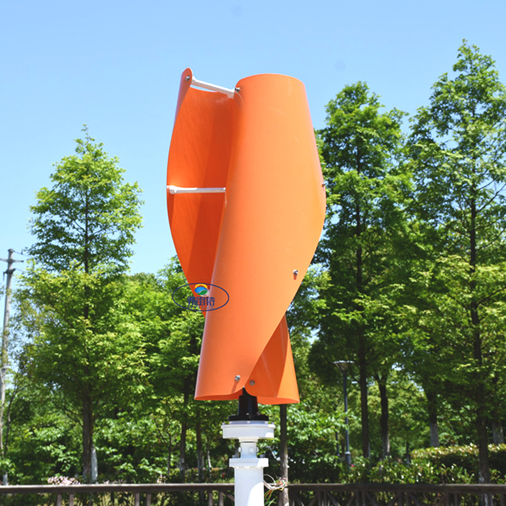 New Arrival Vertical wind turbine permanent magnet generator three phase 1000w 24v48v vertical axis windmill with controller