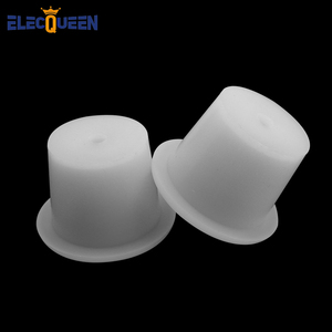 Food Grade Fermentation Silicone Stopper 2Pcs/Lot Airlock Valve for Carboy Sealed Rubber Plug with Hole Homebrew Wine Beer Tools