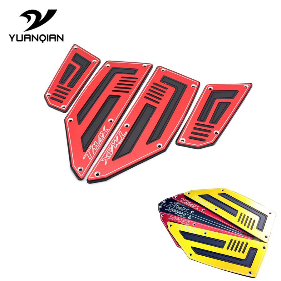 For Yamaha Tmax 530 Tmax530 T-Max T MAX 530 12-16 Footrest Motorcycle Pedal Moto Accessories Footboard Steps Foot Pegs PlateFor Yamaha Tmax 530 Tmax530 T-Max T MAX 530 12-16 Footrest Motorcycle Pedal Moto Accessories Footboard Steps Foot Pegs Plate