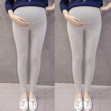 MUQGEW pregnancy pants Pregnant Women's Pants Solid Color And Thin Maternity Pregnancy Trousers hamile giyim elbise #y2(China)