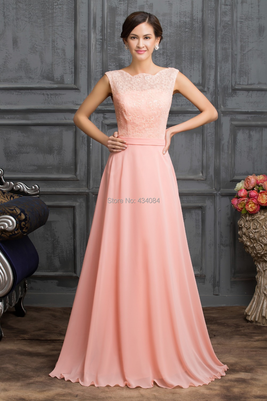 Light Pink Prom vestidos 2016 nueva moda vestido de fiesta barato ...