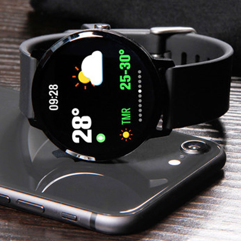 1.3 inch Sports Smart Watch Color Weather IP67 Waterproof Call / Message Reminder Heart Rate Monitor Blood Pressure SmartWatch