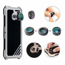 5.1 inch 3in1 15X Macro Lens zero.63X Large Angle Lens +198 Diploma Telephone Fisheye Digital camera Lenses equipment for Samsung S7 Case Cowl