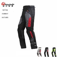 2017 Breathable mesh fabric Riding Tribe Motorcycle Pants, Motorbike Racing trousers with protector Knee hip M L XL 2XL 3XL 4XL