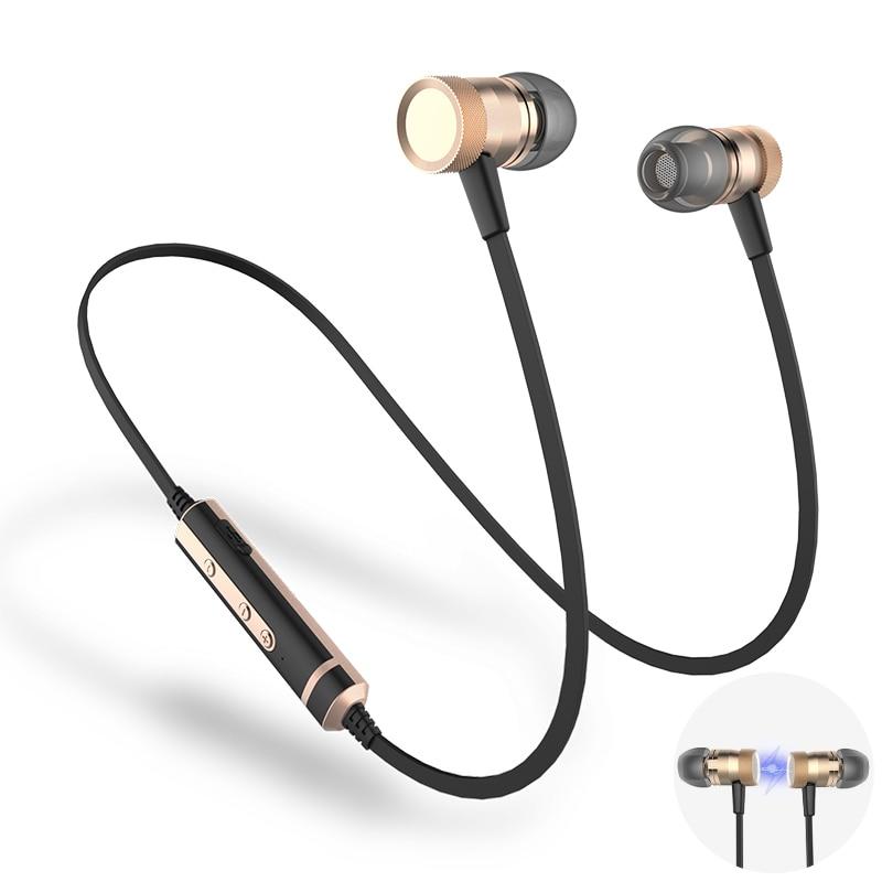 Sound Intone H6 Bluetooth Earphone Sweatproof Sports Wireless Earphones With MIC Bluetooth Headphones For Phones iPhone Xiaomi sound intone stylish wired headphones w microphone for iphone ipad pink purple 145cm