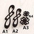 """Modern simples criativo preto puxadores de móveis Notas pretas dresser handle gaveta do armário knob puxe knob antigo preto 5 """"3.75"""""""