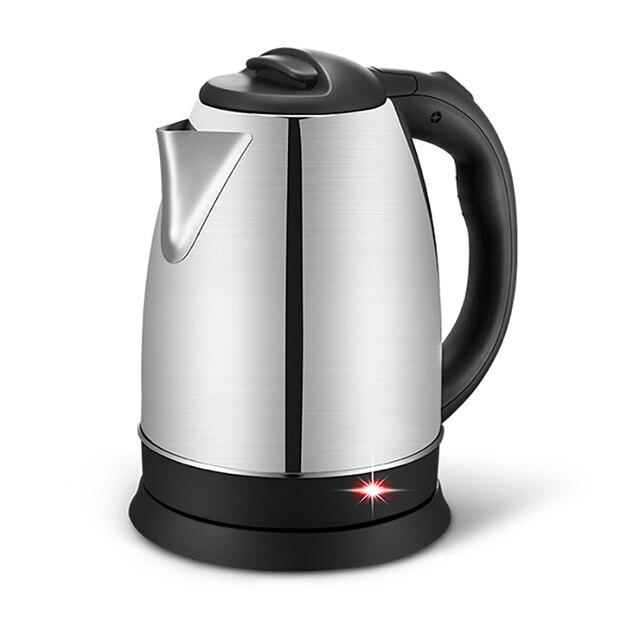 2017 новый электрический чайник нержавеющей стали 1350 Вт анти-сухой функция автоматического выключения питания