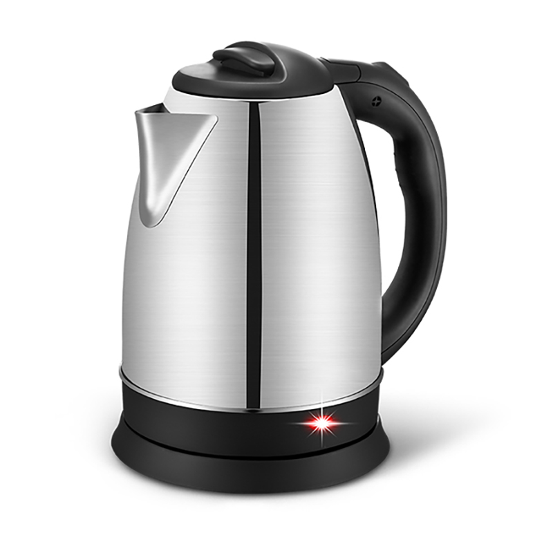 2018new electric kettle stainless steel 1500W anti-dry automatic power off function free shipping electric kettle automatic power off anti scald stainless steel
