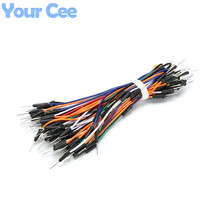 65 pcs Solderless Flexible Breadboard Jumper Wire Cable