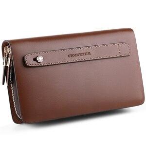 Image 2 - WILLIAMPOLO Marke Mode Hohe Qualität Mens Kupplung Brieftasche Luxus Brieftasche Männer Organizer Brieftasche PL162