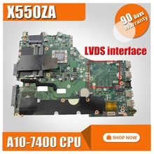X550ZA Scheda Madre A10-7400 cpu Per For Asus VM590Z K555Z X550Z scheda madre Del Computer Portatile X550ZA Mainboard X550ZE Scheda Madre di prova di 100% OK