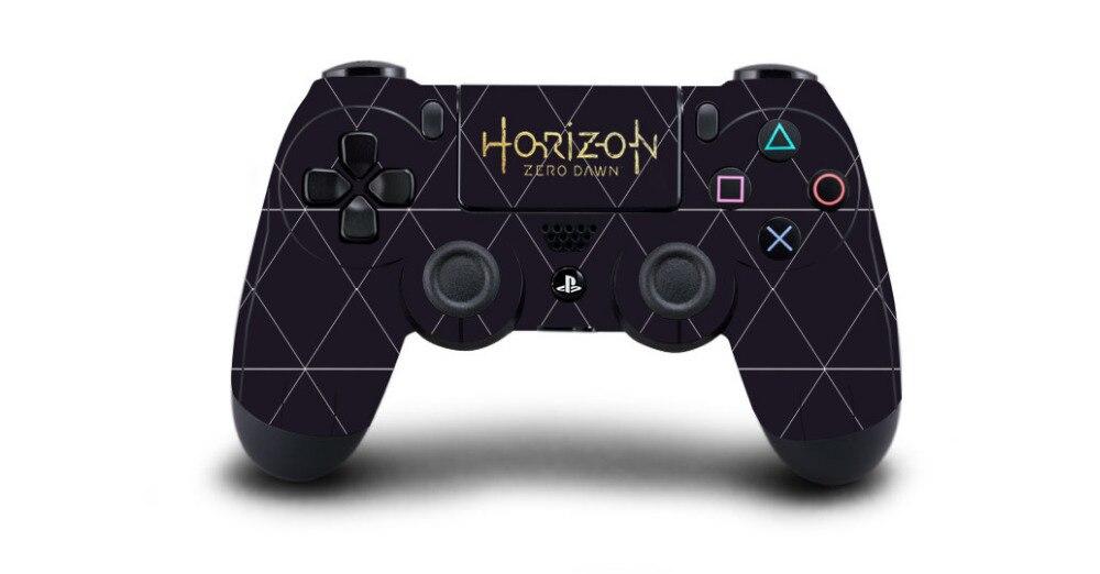 1 pz Horizon Zero Alba PS4 Autoadesivo Della Pelle Della Decalcomania Per Sony PS4 Playstation 4 Dualshouck 4 Game Controller di PS4 Sticker