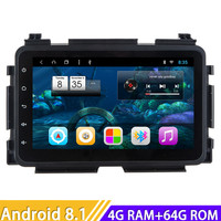 Car Radio Android 8.1 Auto Multimedia Player For Honda Vezel 2015 Stereo GPS Navigation Magnitol Two Din Video Autoradio Unit