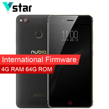 International Firmware 5.2″ ZTE Nubia Z11 Mini S 4GB 64GB Snapdragon MSM8953 Octa Core Android 6.0 Smart Phone 23.0MP 3000mah