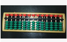 13 column ABS Abacus Chinese soroban Tool In Mathematics Education calculation tool xmf008