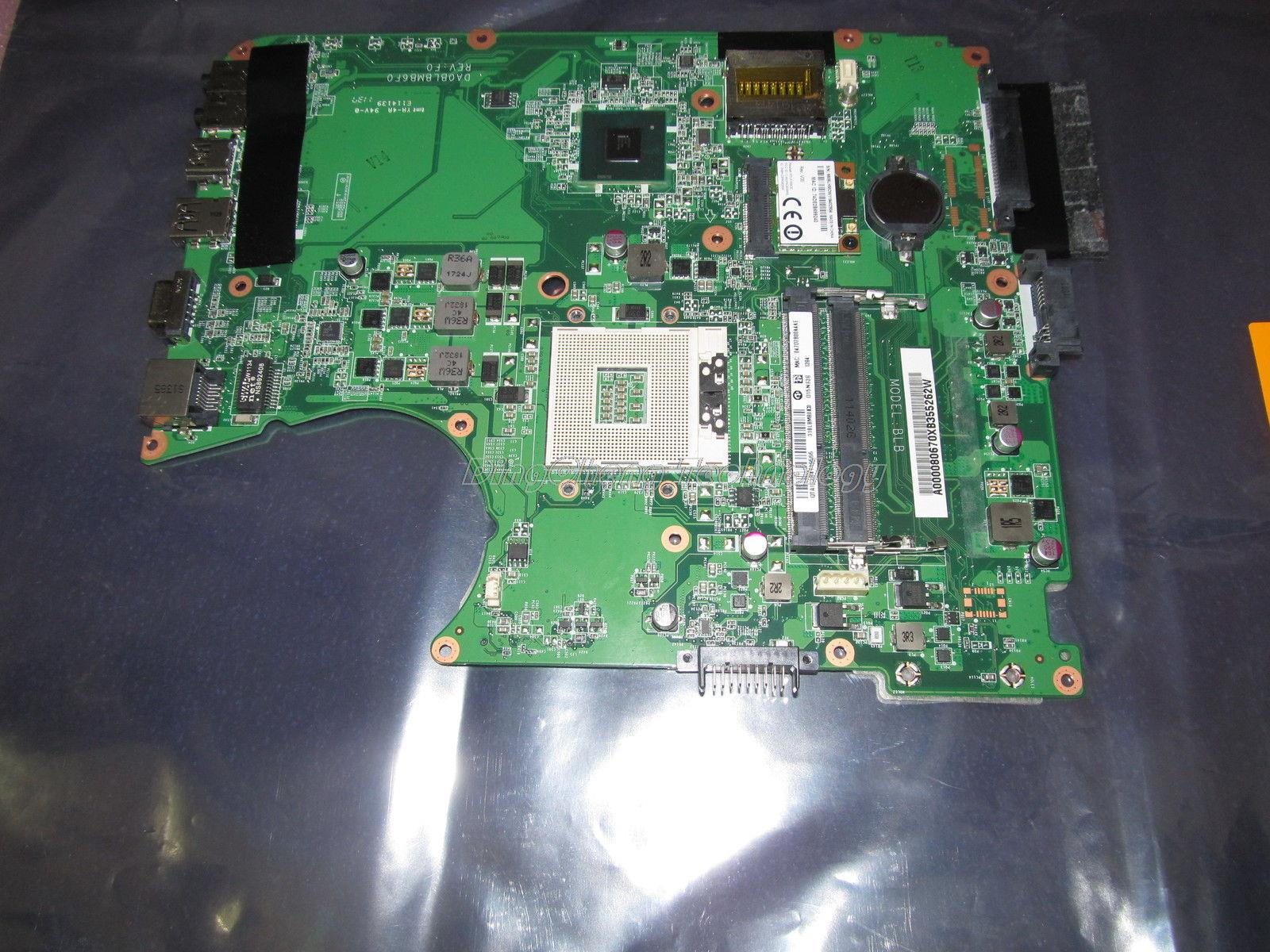 SHELI laptop Motherboard For Toshiba L750 L755 A000080670 DA0BLBMB6F0 Rev:F HM65 integrated graphics card 100% fully tested