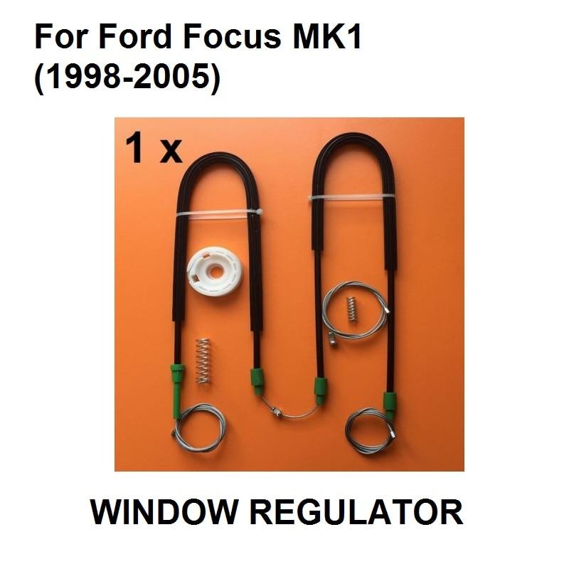 For Ford Focus MK1 Window Regulator Repair Kit Front Left Side New 1998-2005 85720 58010 front driver side electric window motor for 2008 toyota 4runner window regulator motor