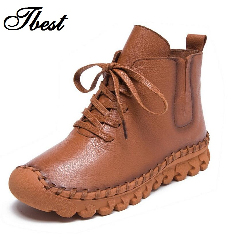 handmade leather boots womens aliexpress buy tbest fashion autumn winter 8946