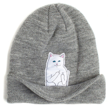13 color 2015 autumn winter spring beanie new style cat wool knit hat hip hop hedging men women  color