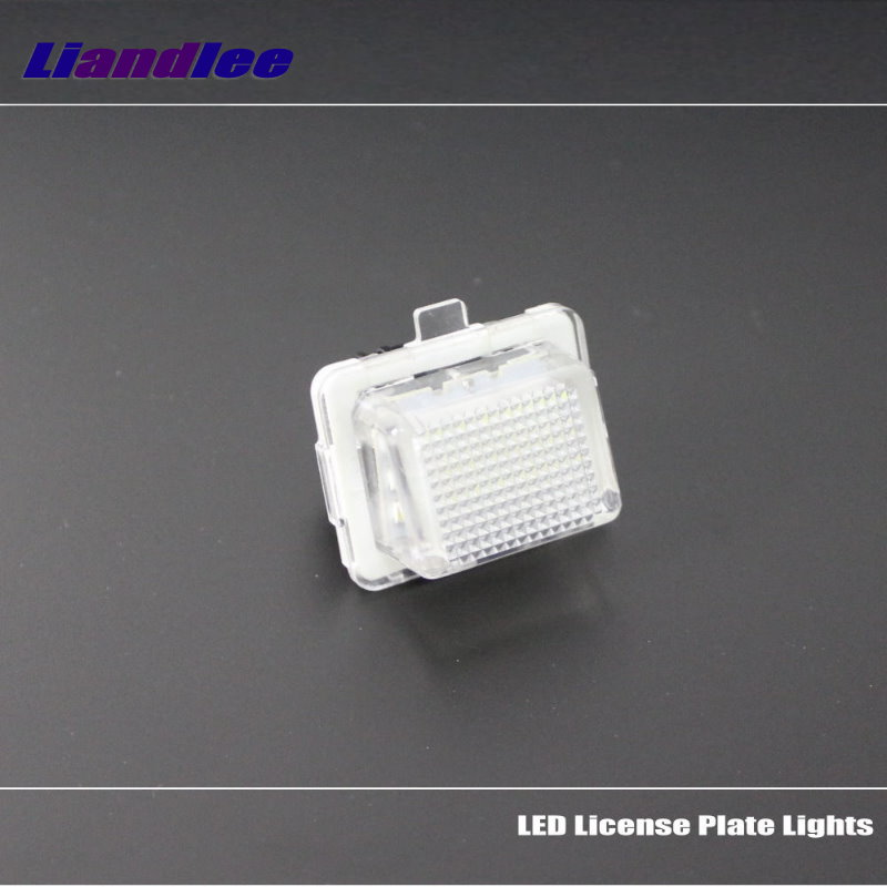 Liandlee For Mercedes Benz CL500 CL600 CL55 CL63 CL65 Car License Plate Light Number Frame Lamp High Quality LED Lights in Signal Lamp from Automobiles Motorcycles
