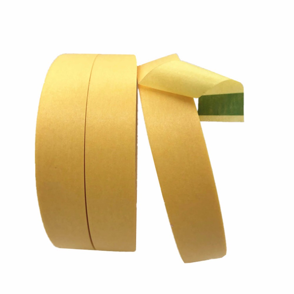 50mmx164ft 3M244 High Temperature Resistant Adhesive Masking Tape for Hold Bundle Seal and Paint masking heat resistant high temperature masking adhesive tape 19mm 50m 290 c