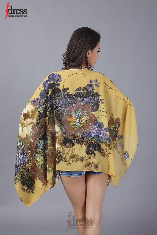 IDress Plus Size Women Clothing 2017 Summer Fashion Sexy Chiffon Tops for Women Vintage African Print Short Sleeve Sexy T Shirt (9)