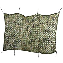 Hunting Camping Tent 1.5M x 2M Sun Shade Sail  Woodland Military Net Oxford Camouflage Net Double Tent