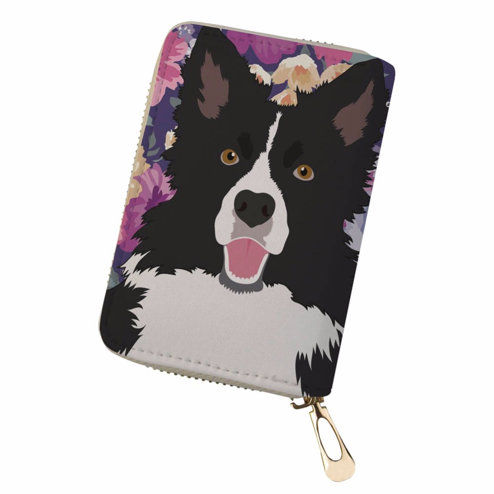 Noisydesigns Womens Purses And Wallets Dog Bag Portable Pu Leather Protector Organizer Card Wallet Monedero Pokemon Kaarten Card & Id Holders Luggage & Bags