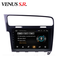 VenusSR Android 8.1 2.5D car dvd for Volkswagen GOLF 7 2014 2017 multimedia headunit GPS Radio stereo gps navigation