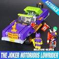 Nuevo 433 Unids Lepin 07046 Genuino de la Serie de Películas de Batman The Joker Lowrider Conjunto de Bloques de Construcción Ladrillos de Juguetes Educativos 70906