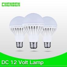 hot deal buy e27 12v led light bulb 3w 5w 7w enery saving lampada dc12v led lamp e27 9w 12w 15w 12 volts led light bulbs for outdoor lighting