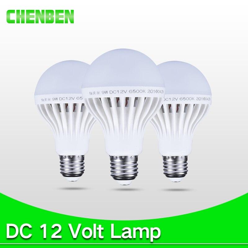 E27 12V Led Light Bulb 3W 5W 7W Enery Saving Lampada DC12V Lamp 9W 12W 15W 12 Volts Bulbs for Outdoor Lighting