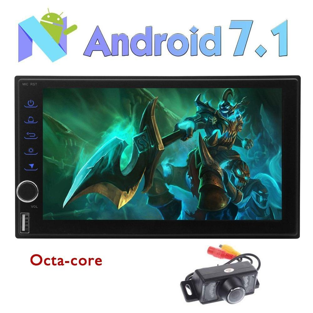 Eincar Android 7.1 Octa Core Car Stereo 7'' 2 Din Autoradio Support GPS/Fast Boot/Bluetooth/3G 4G WIFI/FM AM RDS/SWC/USB SD/DVR