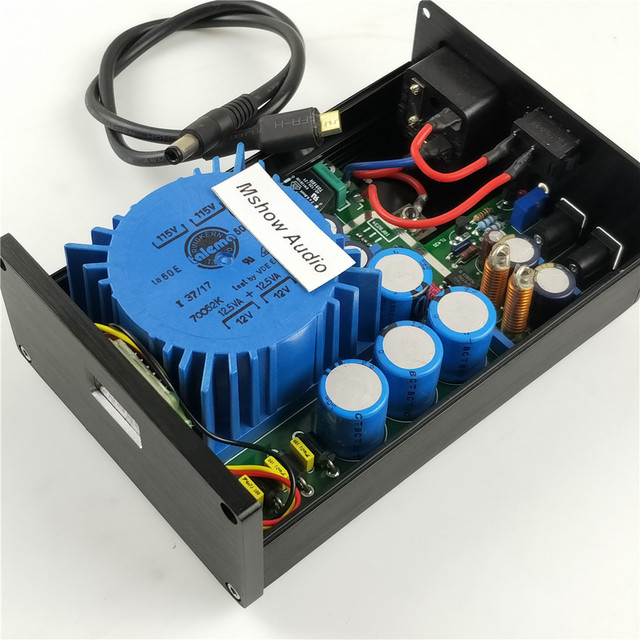 Low Noise Power Supply For Audio Circuits