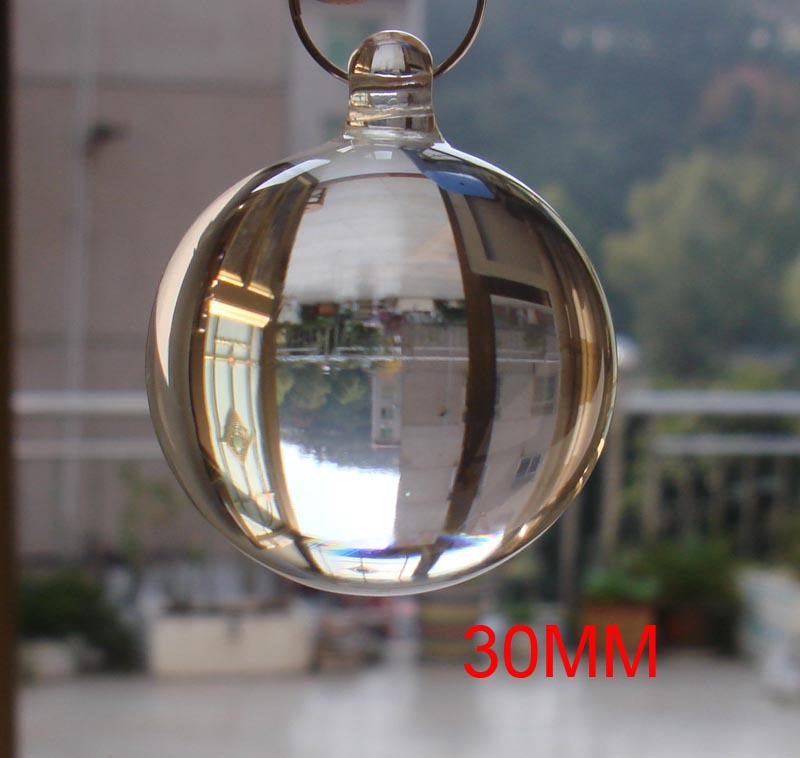 Ball For Chandelier Parts Wedding X Free 5pcs Lot 40mm Transpa Color Crystal Smooth