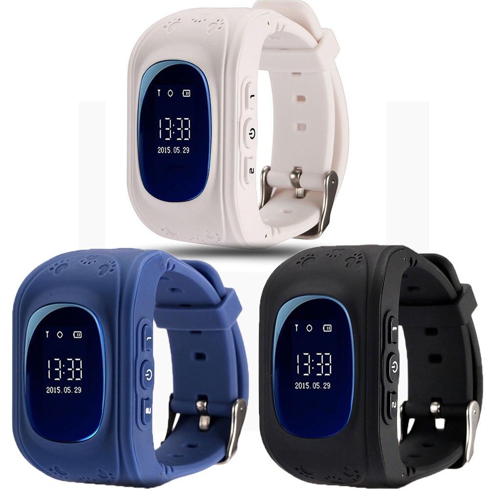 imágenes para Reloj Del Teléfono inteligente Niños Kid Reloj G36 Q50 GSM GPRS GPS Localizador Rastreador Anti-perdida Smartwatch Niño Guardia para iOS Android