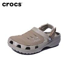 5564caf990b CROCS Anti-deslizante sandalias de los hombres de fondo suave marca de  playa al aire libre sandalias crocs-zapatos de los hombre.