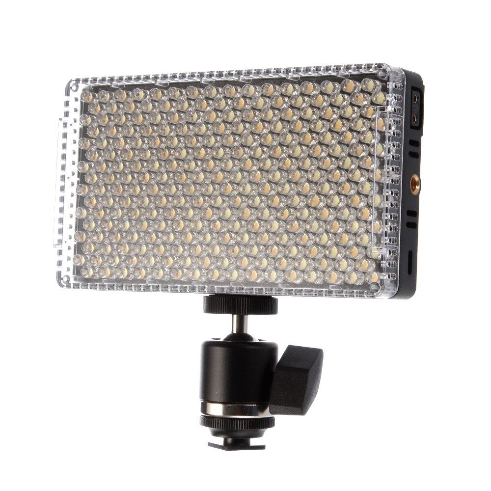 Aputure Amaran AL F7 3200 9500K LED Photo Video Light with Holder Adapter for DSLR DV cameras