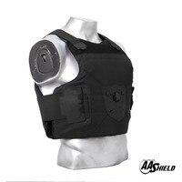 AA щит баллистическая Куртка бронежилет костюм удобный циферблат Скоба держатель пуленепробиваемый арамидный сердечник вставка безопасно