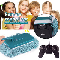 Mop Car Mini Car Toy Teaching Tools Car Wash Plastic Home Cleaning Rc Vehicle