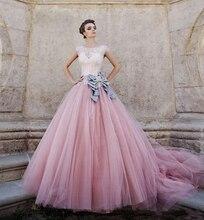 Prinzessin Weiß und Rosa Quinceanera Kleider 2016 Vestidos De 15 Anos Bow Sash Lace Party Hochzeit Prom Kleider Perle Lieben 16 Kleid