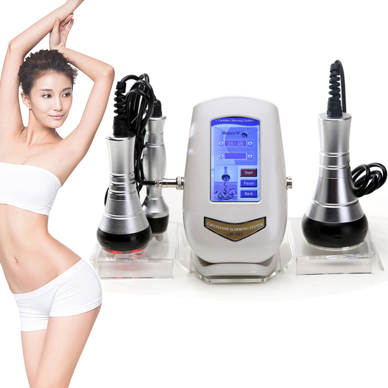 40K Cavitation Ultrasonic Weight Loss Beauty Machine Multi-polar RF Radio Frequency Skin Rejuvenation Lift Tighten Anti-wrinkle