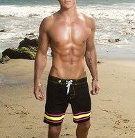 Men Quick Dry Summer Shorts Men Surf Beach Shorts Beach Wear See Board Trunks Bermuda Masculina