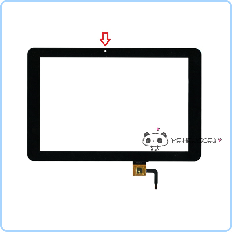 New 10.1'' inch Digitizer Touch Screen Panel glass 101056-07A-V1 Free Shipping машинка для стрижки jinding jd 8218
