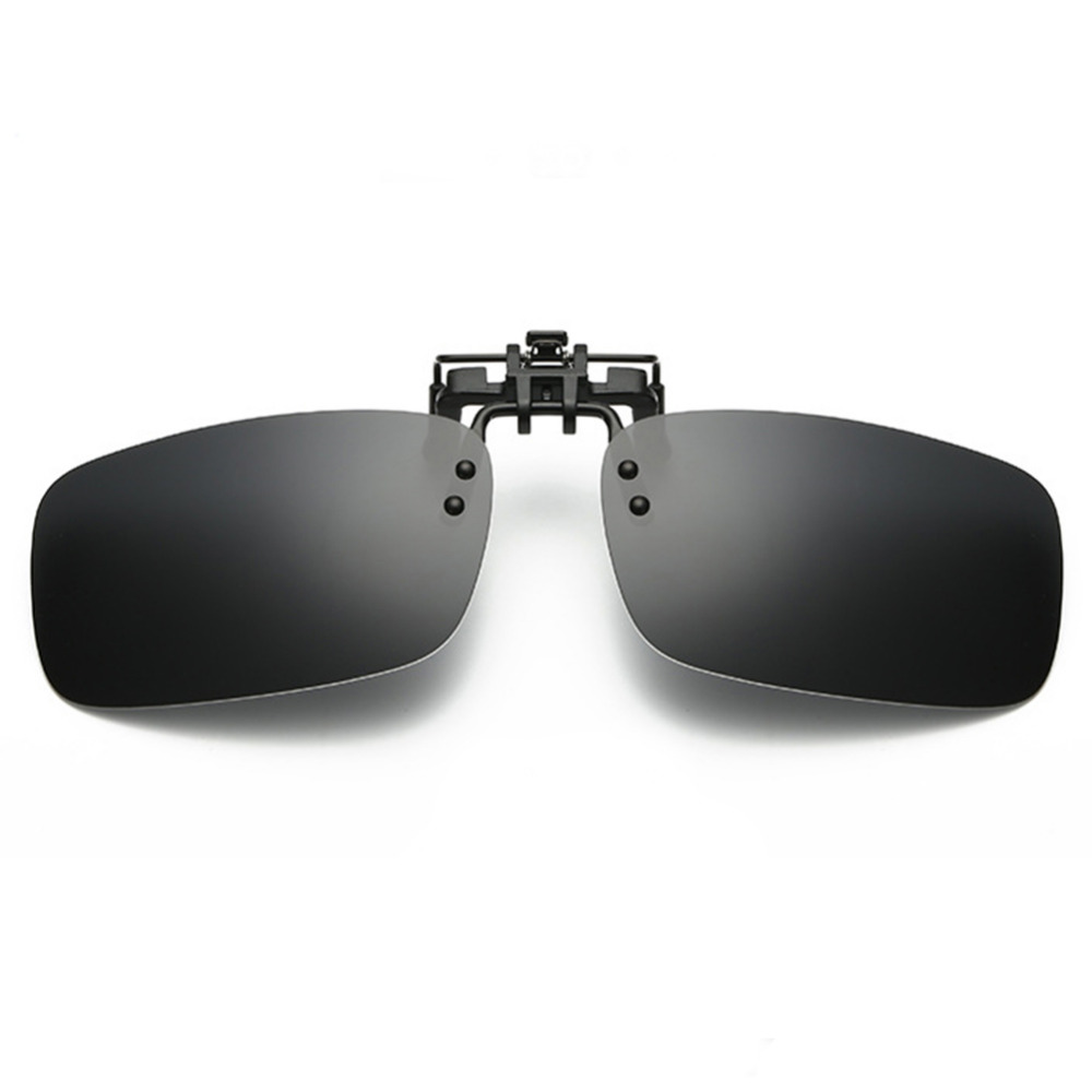 437fa73b538 Myopia Eglasses Polarized Clip on Flip up Clip Sunglasses Lenses Glasses  Lightweight Driving Fishing Outdoor Sports Day  Night -in Sunglasses from  Apparel ...