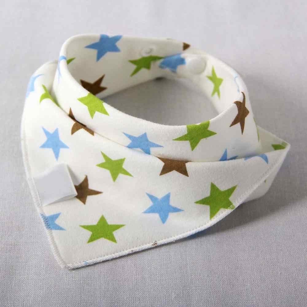 Bandana Do Bebê Babadores Triângulo Bonito Bibs de Alimentação Do Bebê Avental de algodão Do Bebê Meninos Meninas Dos Desenhos Animados Alimentação Lenço Bib Collar Bib Burp pano