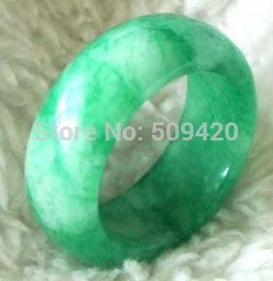 XFS20141er>>สีเขียวหยกแหวนเกรดA JADEITE