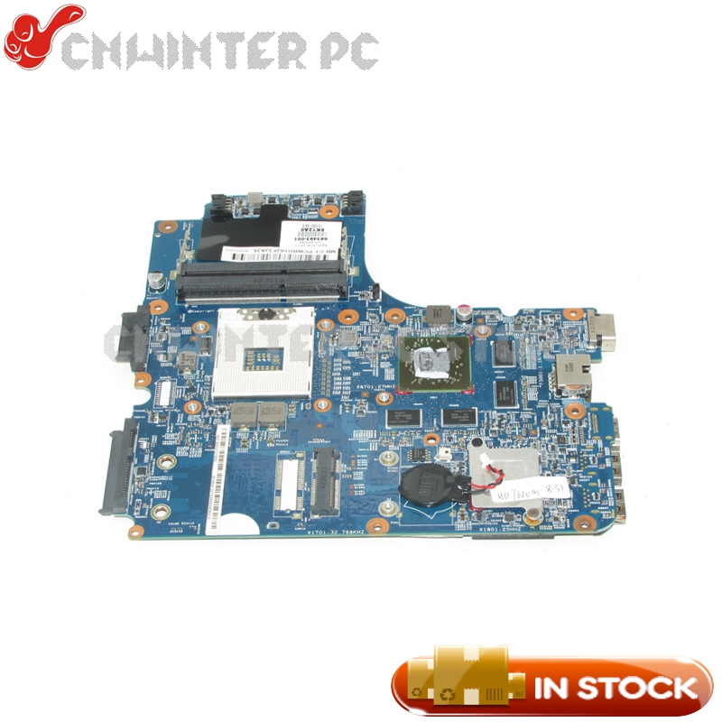 NOKOTION For HP ProBook 4440s 4441s 4540s Laptop Motherboard 683493-001 HM76 DDR3 HD 7650M Video Card недорого